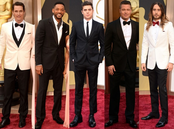 Oscar dresses 2014 men