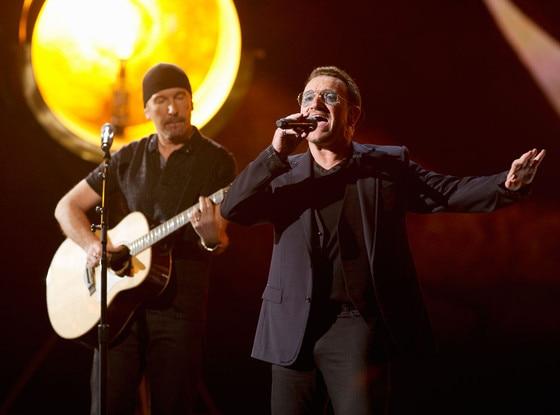 U2, Oscars Show