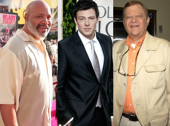 Cory Monteith, James Avery, Tom Clancy