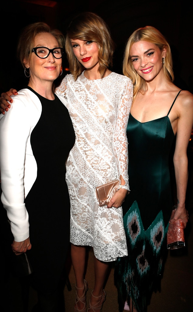 Meryl Streep, Taylor Swift, Jaime King