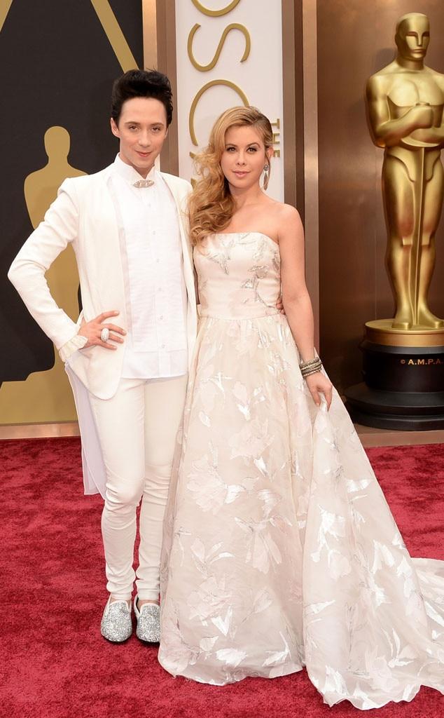 Johnny Weir, Tara Lipinski, Oscars