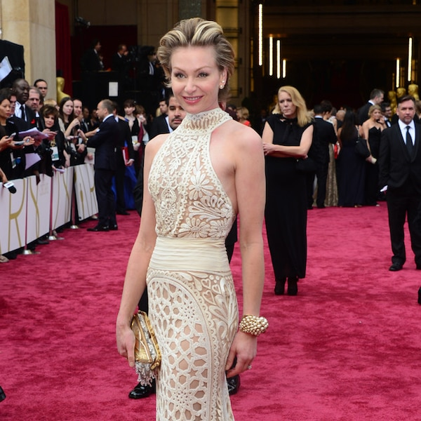 Portia De Rossi Wedding Gown: Portia De Rossi From 2014 Oscars Red Carpet Arrivals