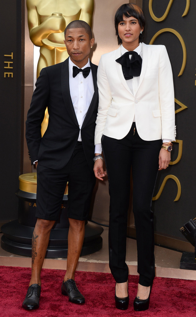 Pharrell Williams, Helen Lasichanh, Oscars
