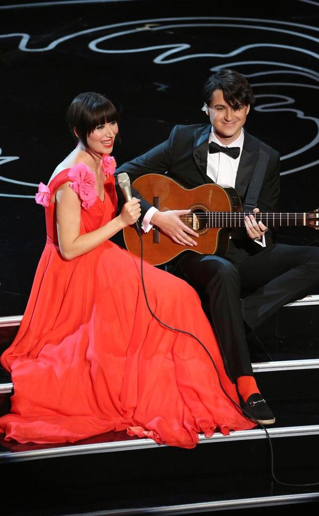 Karen O., Ezra Koenig, Oscars Show