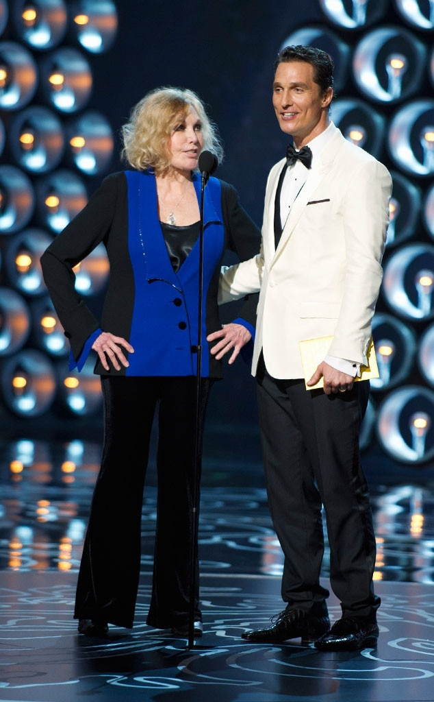 Kim Novak, Matthew McConaughey, Oscars Presenters