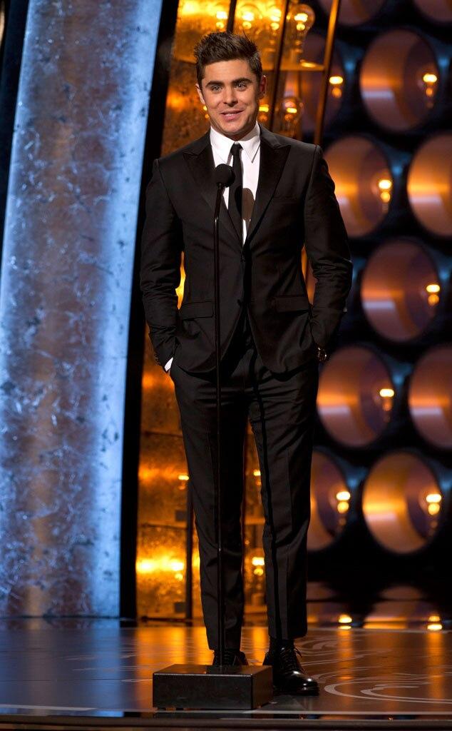Zac Efron, Oscars Presenters