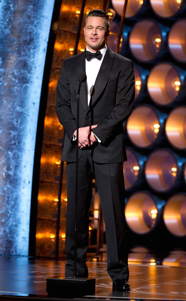 Brad Pitt, Oscars Presenters