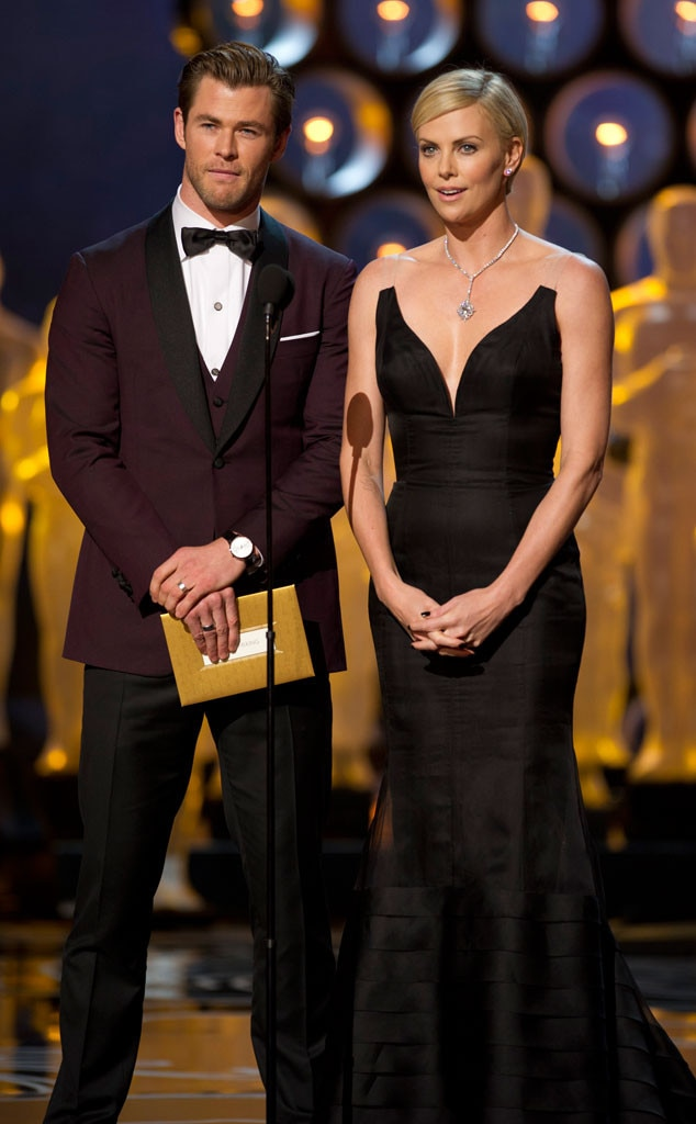 Chris Hemsworth, Charlize Theron, Oscars Presenters