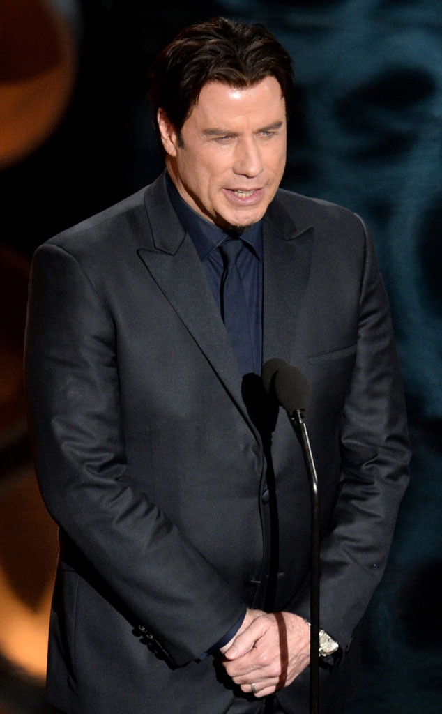 John Travolta, Oscars Presenter