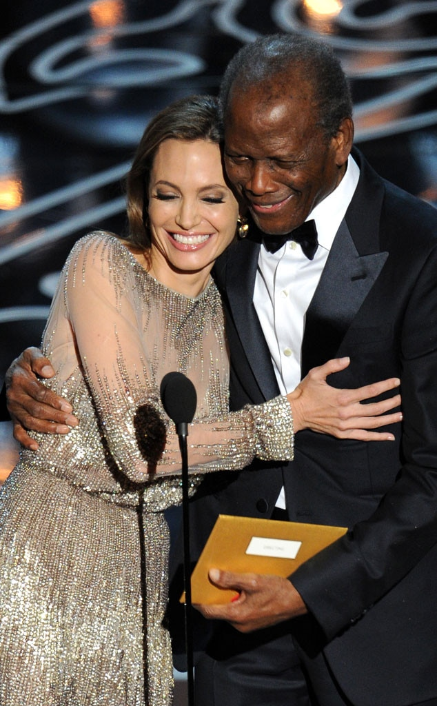 Angelina Jolie, Sidney Poitier, Oscars Presenters