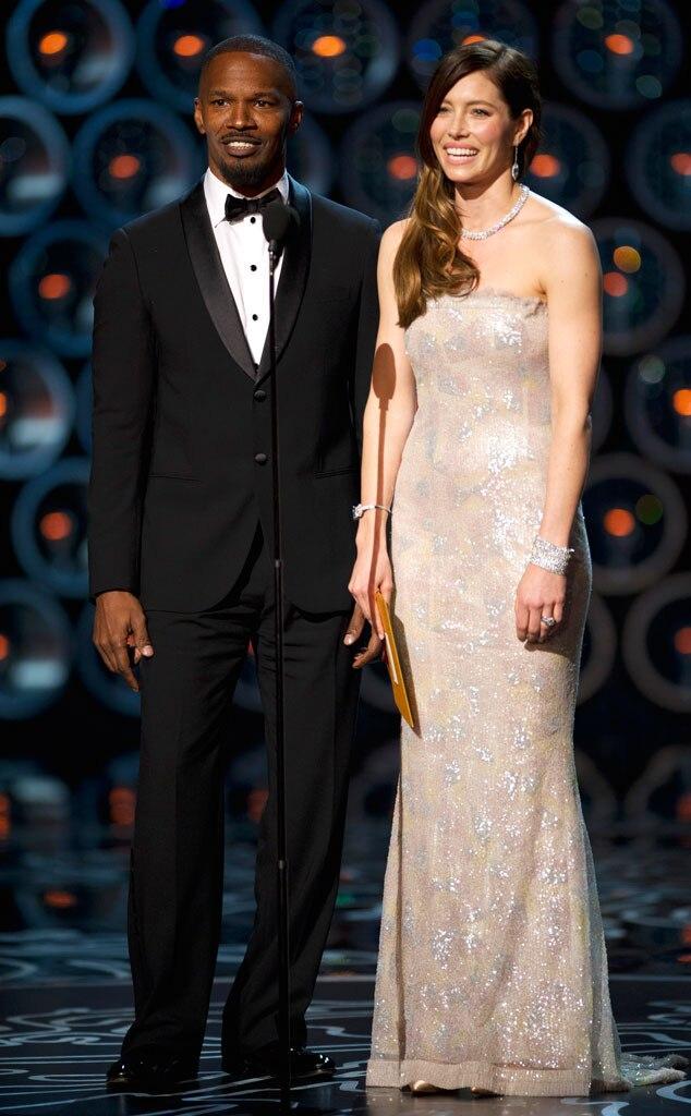 Jamie Foxx, Jessica Biel, Oscars Presenters