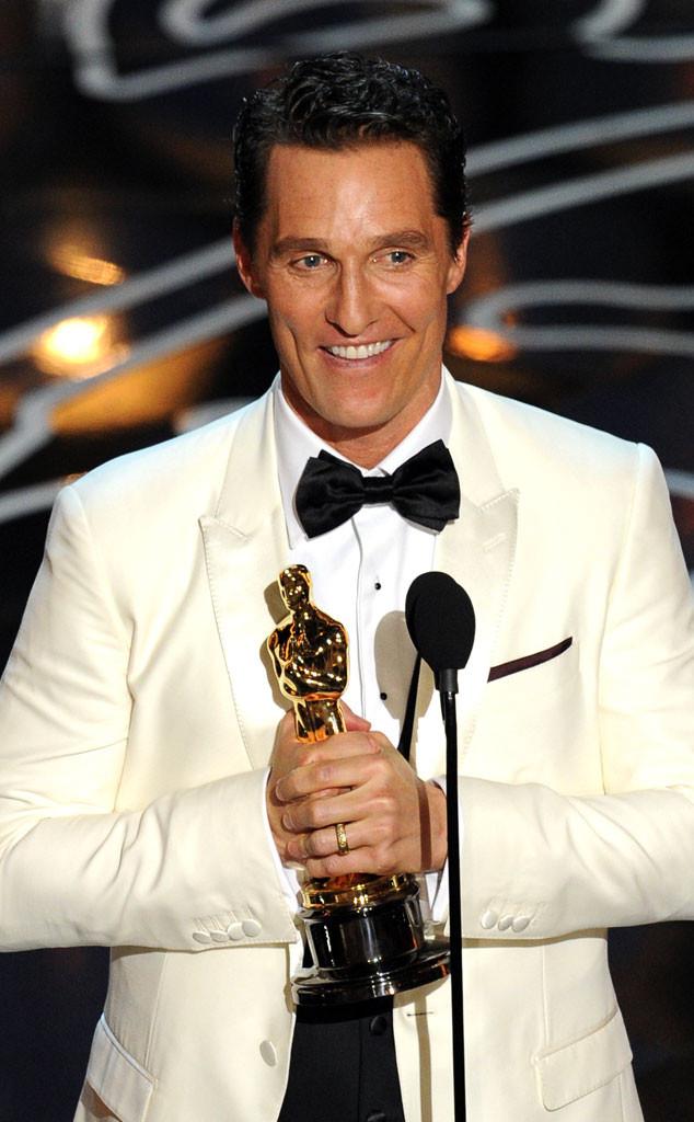 Matthew McConaughey, Oscars Winners