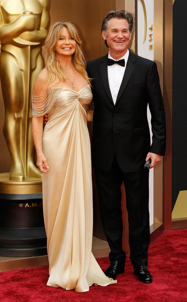 Goldie Hawn, Kurt Russell, Oscars