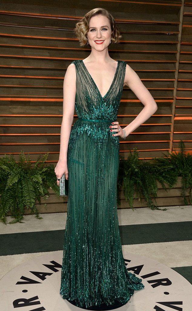 Evan Rachel Wood, Vanity Fair Oscar Party