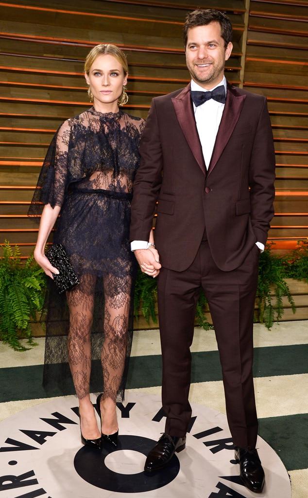 Diane Kruger, Joshua Jackson, Vanity Fair Oscar Party