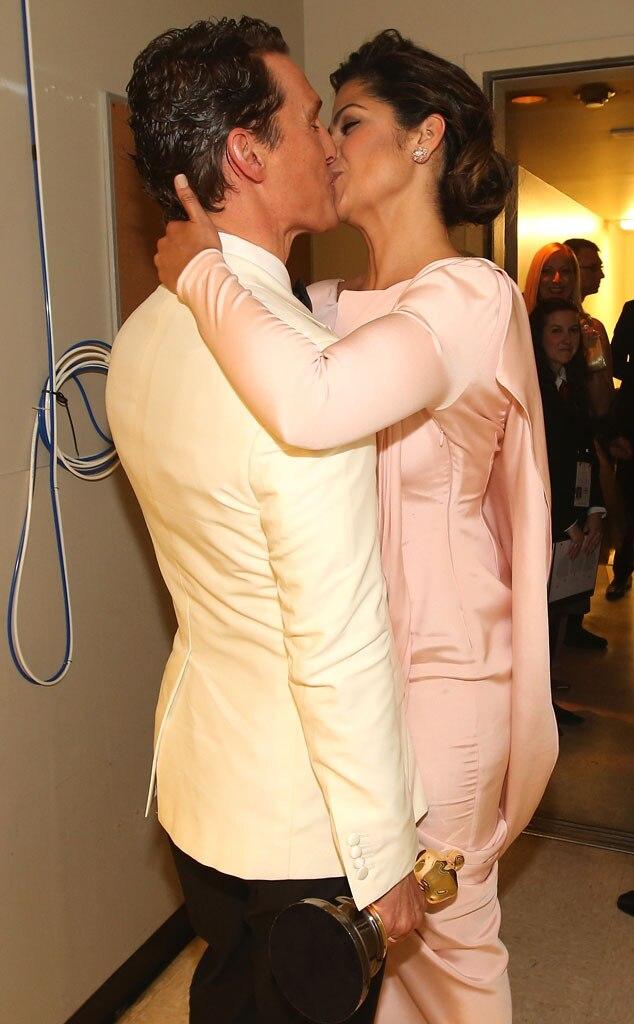 Matthew McConaughey, Camila Alves, Oscars Candids