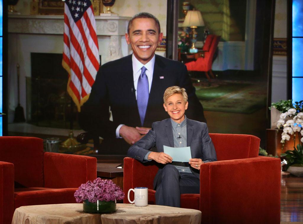 Barack Obama, Ellen Degeneres, The Ellen Show