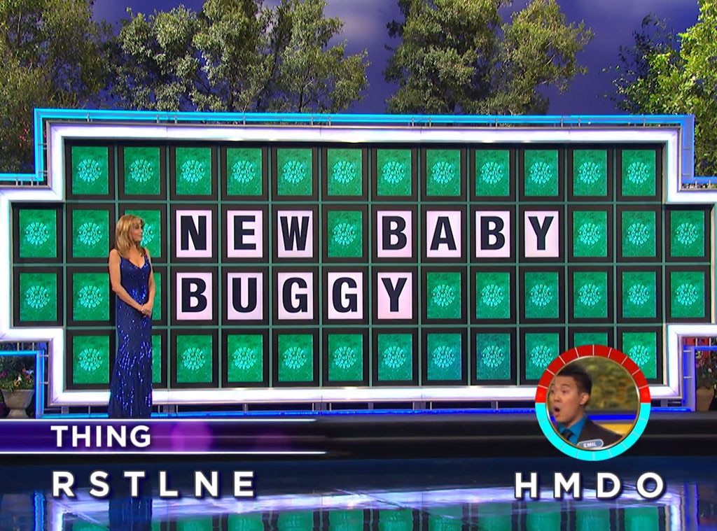 wheel of fortune contestant makes one hell of a lucky guess and wins 45 000 watch now e news. Black Bedroom Furniture Sets. Home Design Ideas