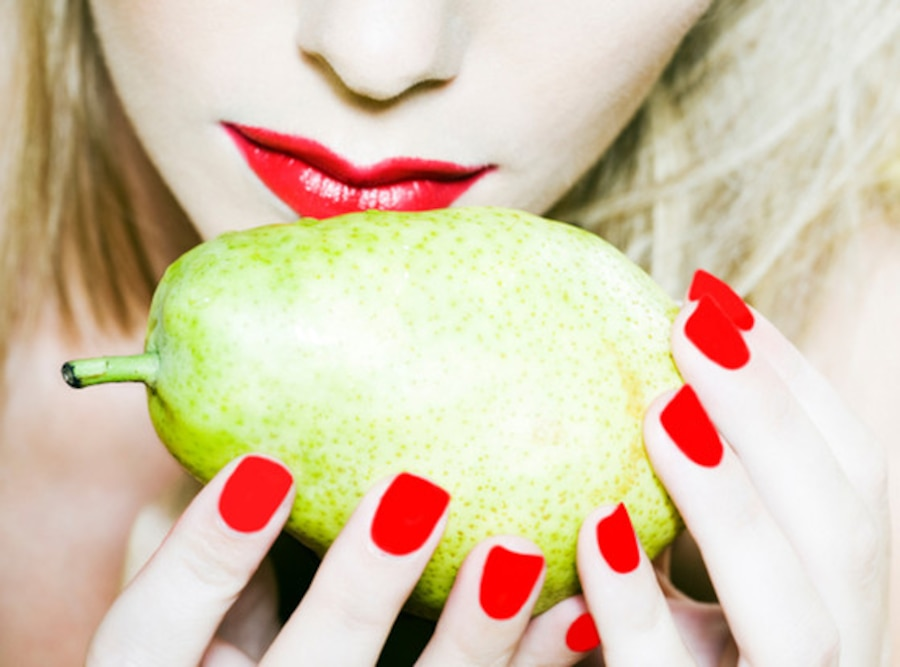 Sniffing Fruit, Pear
