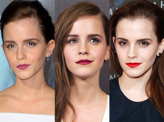 Emma Watson, Lipstick