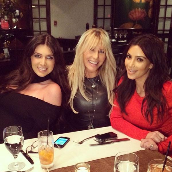 Brittny Gastineau, Lisa Gastineau, Kim Kardashian