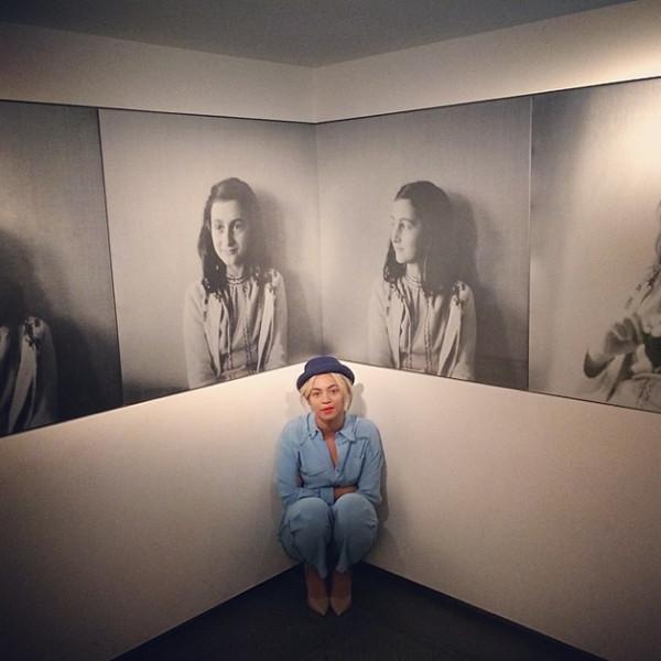 Beyonce, Anne Frank Museum, Instagram