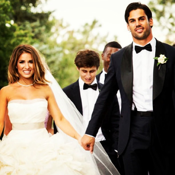 Husband and Wife from Eric Decker & Jessie James Decker ...