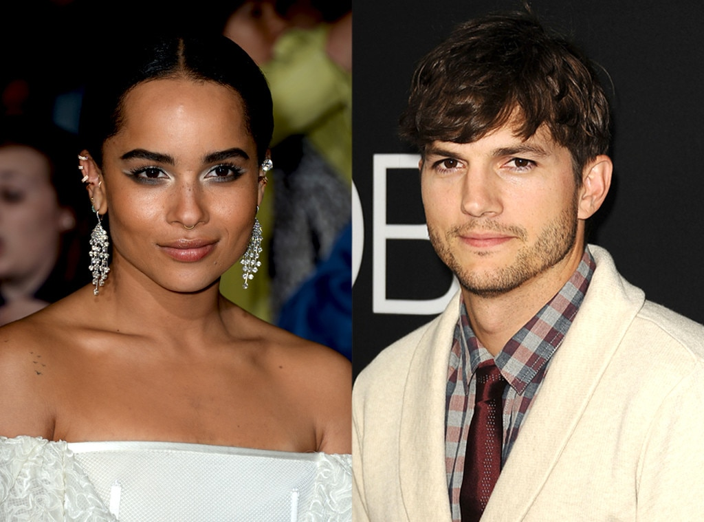 Zoe Kravitz, Ashton Kutcher