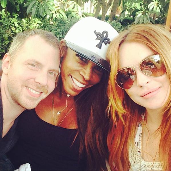 Lindsay Lohan Slams Report She's No Longer Seeing Her ... Lindsay Lohan Instagram