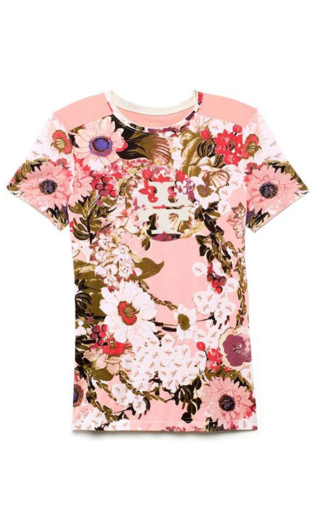Spring Florals, Tory Burch Shirt