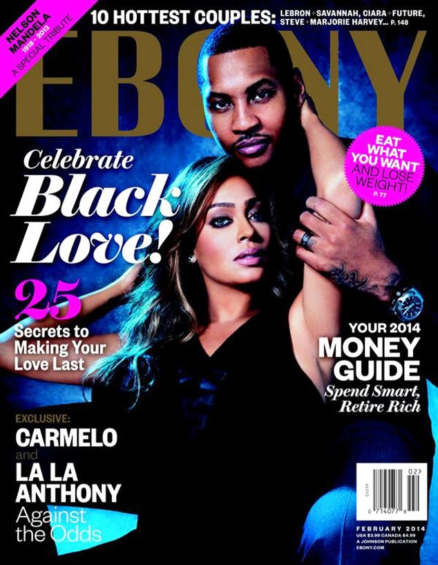 LaLa Anthony, Carmello Anthony, Ebony