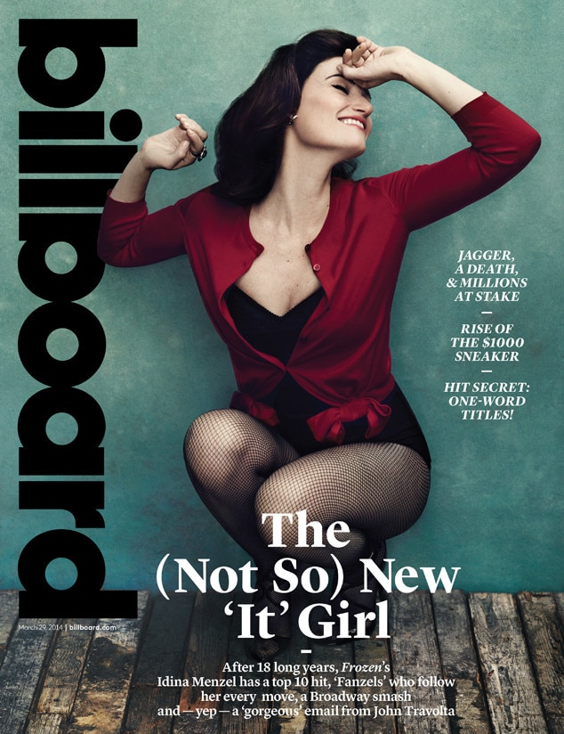 Idina Menzel, Billboard