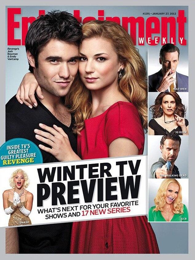 Josh Bowman, Emily VanCamp, Entertainment Weekly