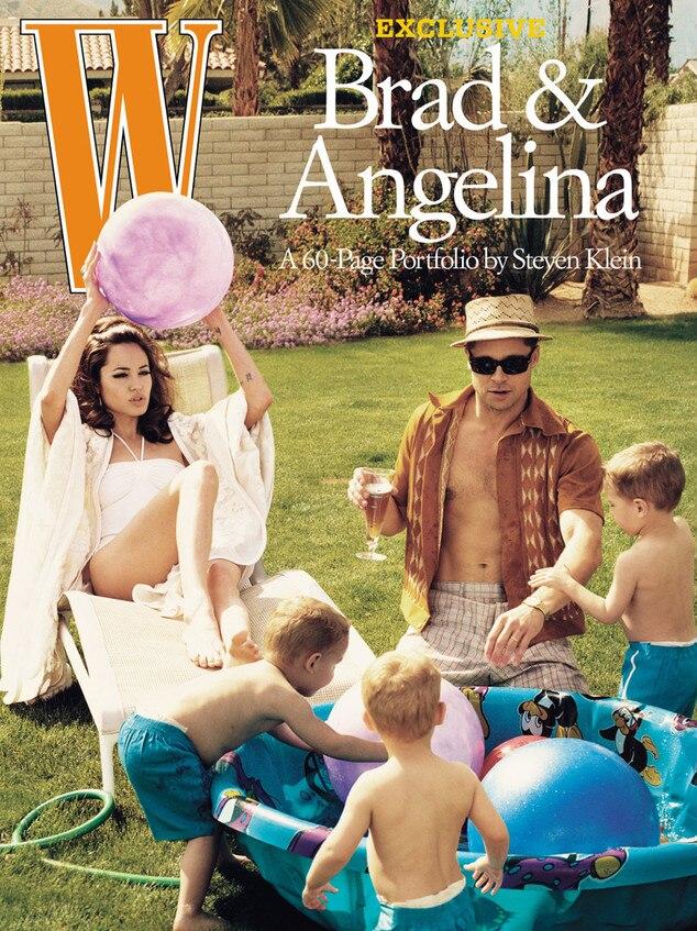 W Magazine, Angelina Jolie, Brad Pitt