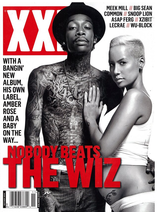 Amber Rose, Wiz Khalifa, XXL Magazine