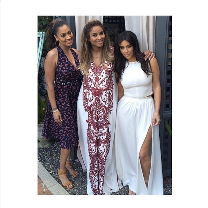 Lala Vasquez, Kim Kardashian, Ciara