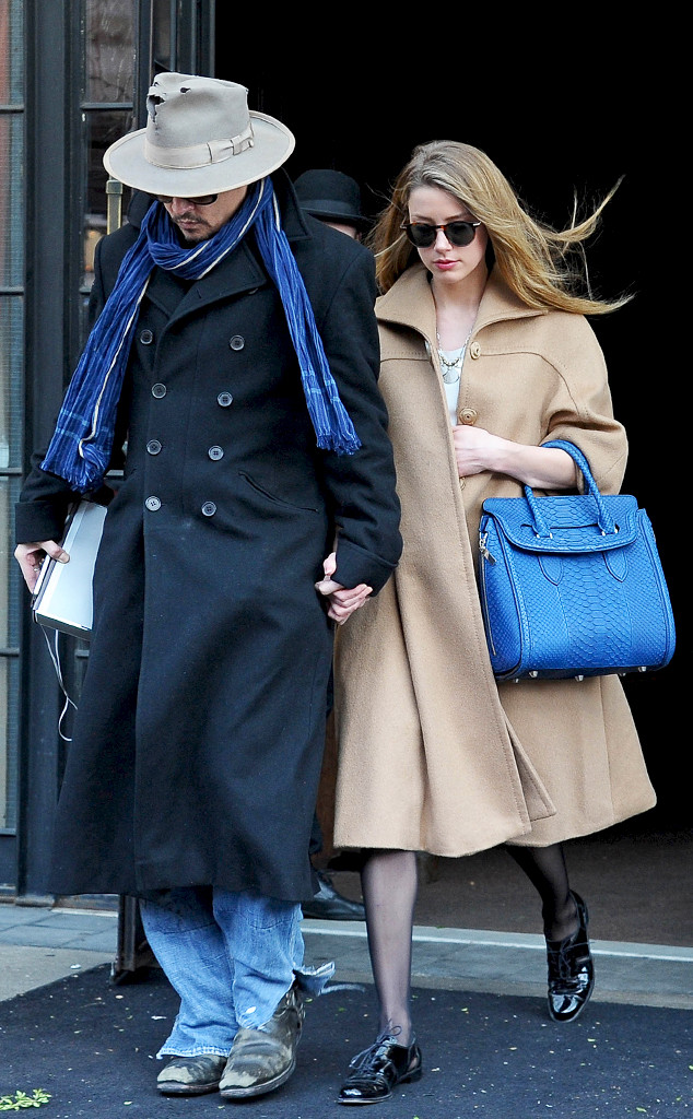 Johnny Depp, Amber Heard
