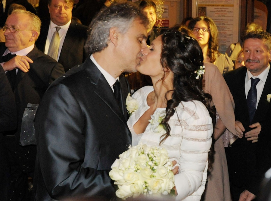 Andrea Bocelli Marries Veronica Berti See Pictures From