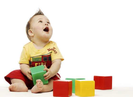 Baby Playing with Weird Toys, Baby Gallery