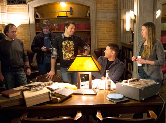 Supernatural, Misha Collins, Jensen Ackles