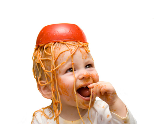 Baby Playing with Food, Baby Gallery