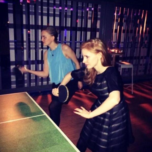 Jessica Chastain, Instagram, Birthday