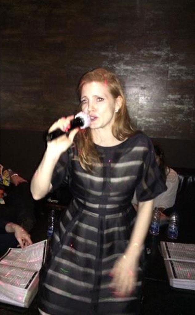 Jessica Chastain, Facebook, Birthday