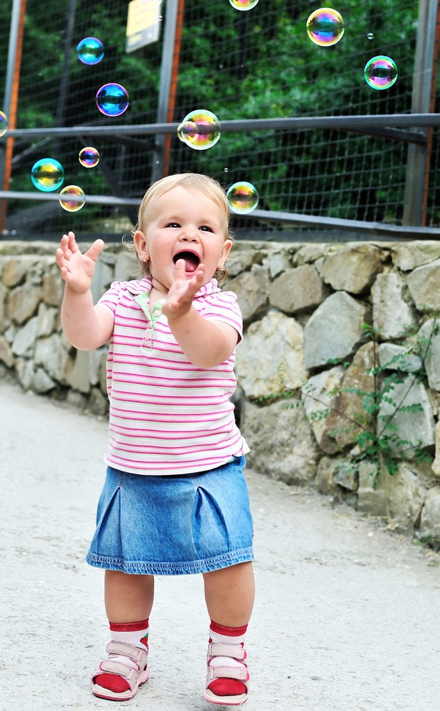 Baby Playing with Bubbles, Baby Gallery