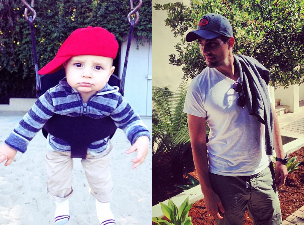 Twinsies from Bill Rancic and Baby Duke Like Father Like Son