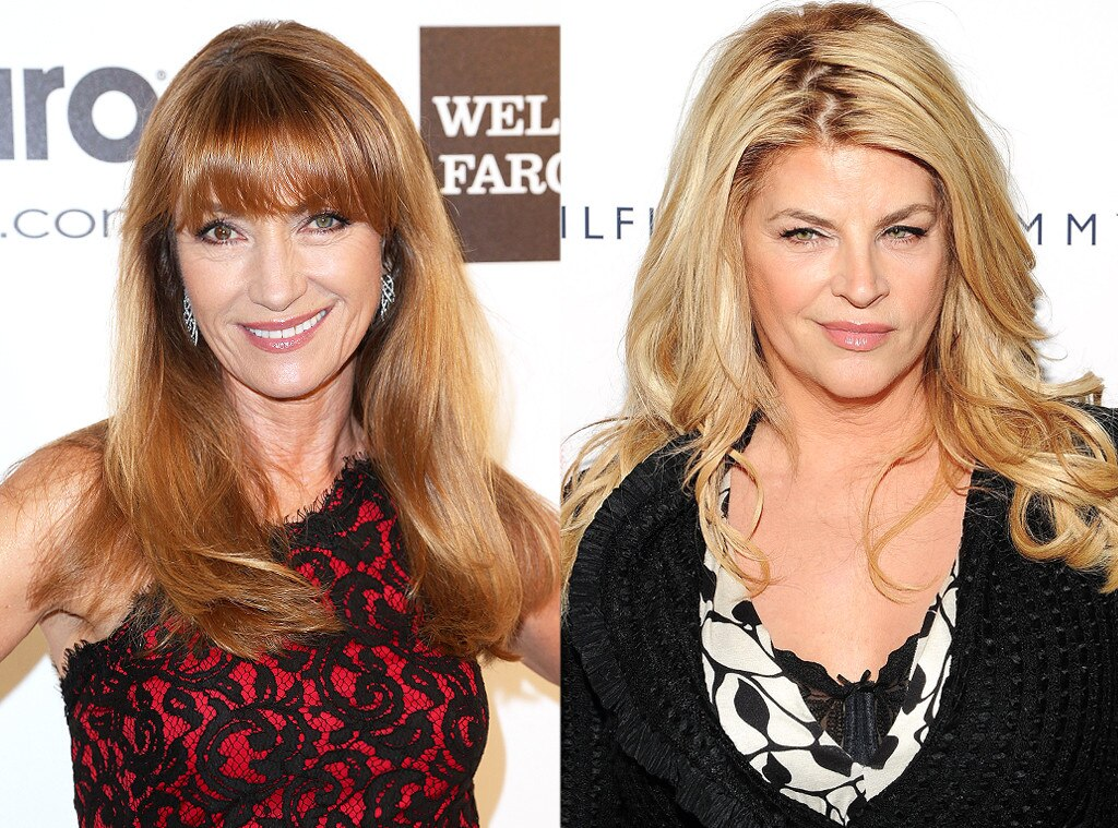 Jane Seymour, Kirstie Alley, Same Age Gallery