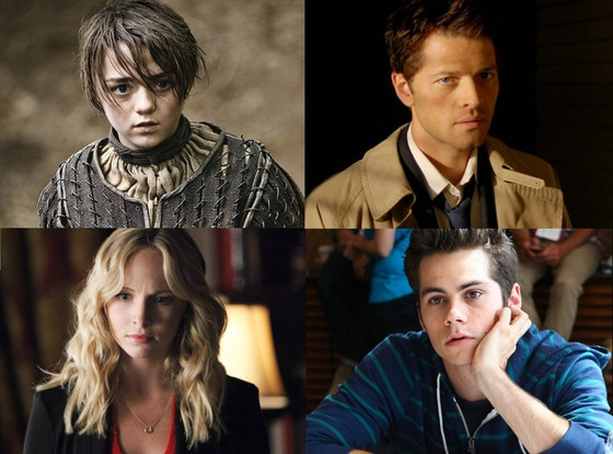 Dylan O'Brien, Candice Accola, Misha Collins, Maisie Williams