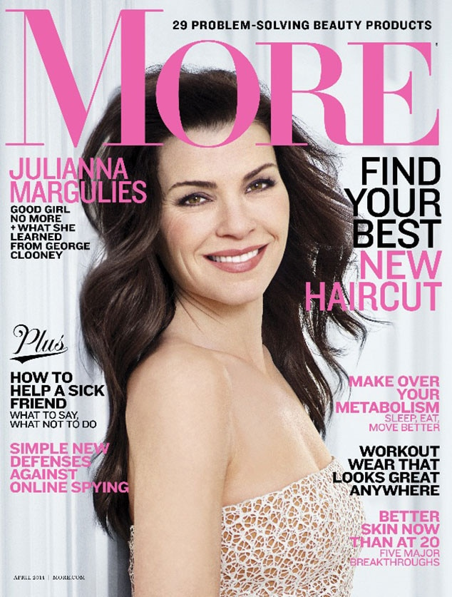 Julianna Margulies, More Magazine