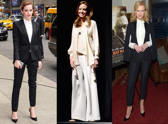Emma Watson, Angelina Jolie, Nicole Kidman