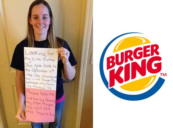Katheryn Deprill, Burger King Bathroom Baby